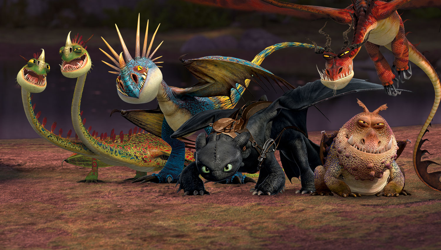 test drive how to train your dragon