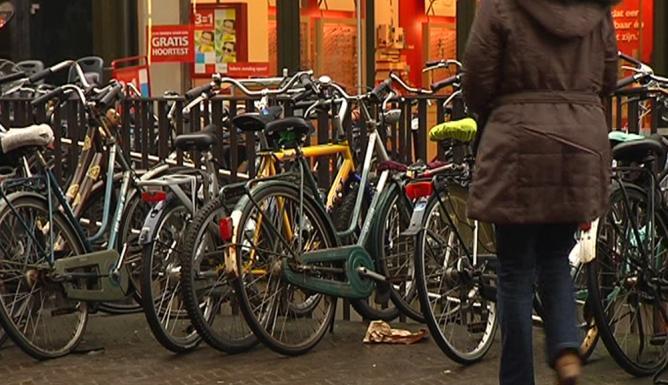Hoe fiets jij naar huis na het stappen?