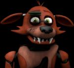 Foxy staat op het podium