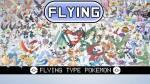 Hoeveel pure flying types zijn er?