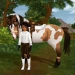 Hoe heet een paard met voskleurige vlekken?