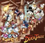Als je een Ducktales karakter mocht ontmoeten zou het zijn: